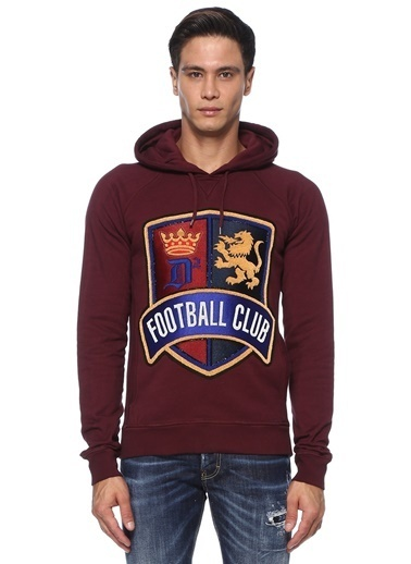Dsquared2 Sweatshirt Bordo